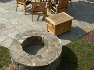 Fireplace and Firepit #005 by Sharper Image Pool