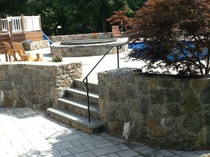 Retaining Walls #002 by Sharper Image Pool