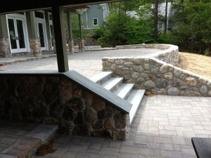 Retaining Walls #005 by Sharper Image Pool