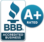 BBB Acreditated Business - A+ Rated