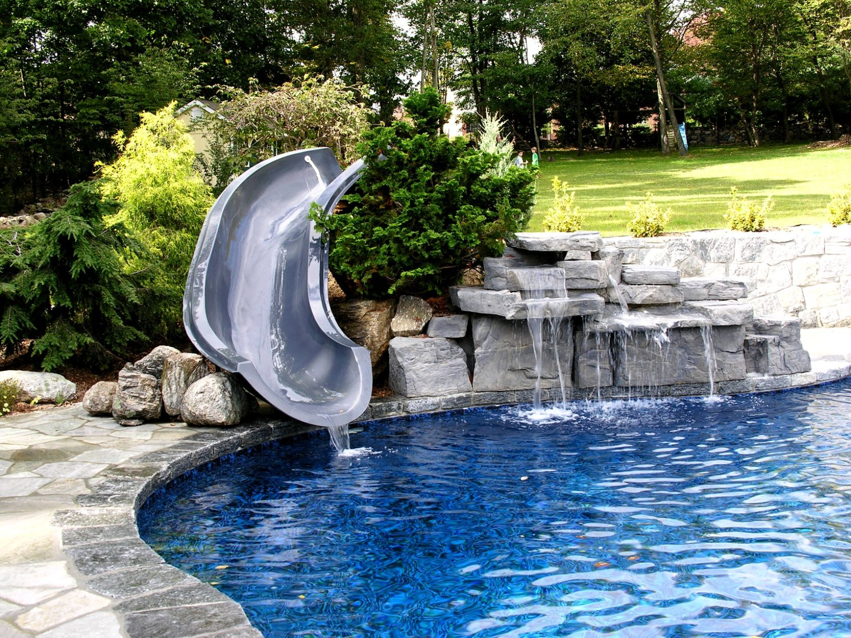Custom Swimming Pool Features in Shelton and Monroe, Connecticut ...